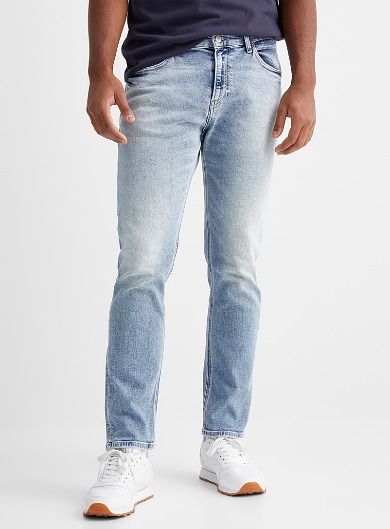 Tommy Hilfiger Baby Blue Faded bleached jean  Straight fit for men