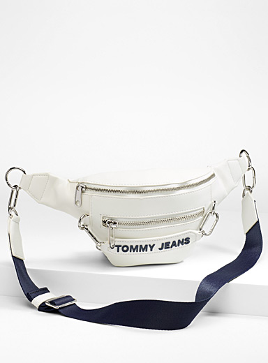 Embossed logo waist pack