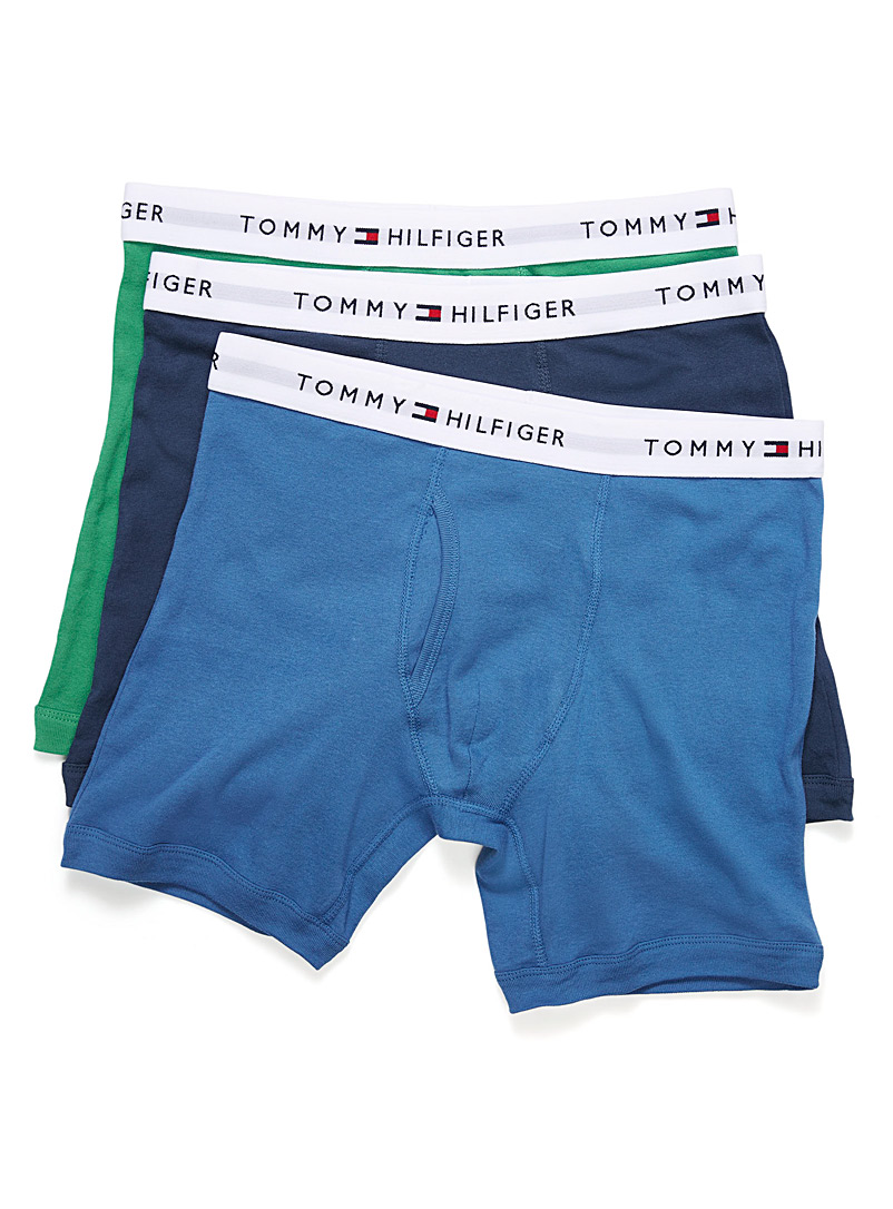 Pure cotton boxer brief  3-pack - Multi-Packs - Green