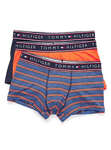 Stripe and solid trunk <br>3-pack