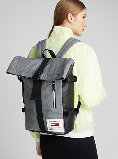 Reflective pattern backpack