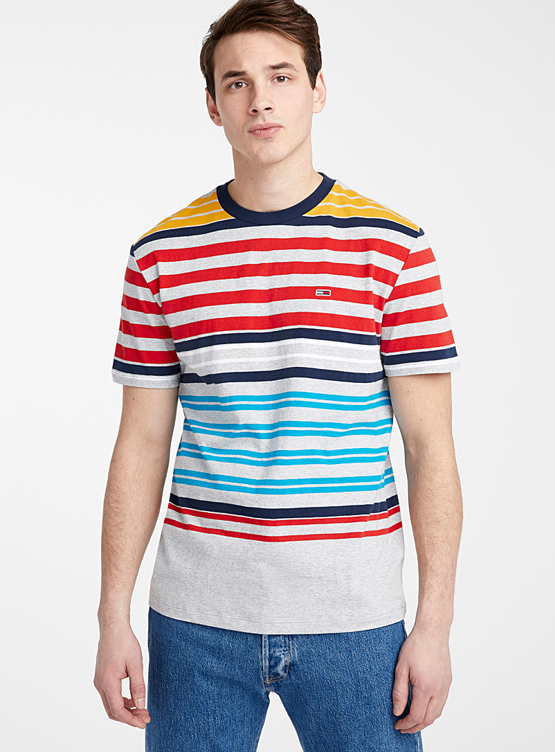 multicolour-stripe-t-shirt