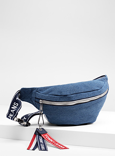 Denim waist pack
