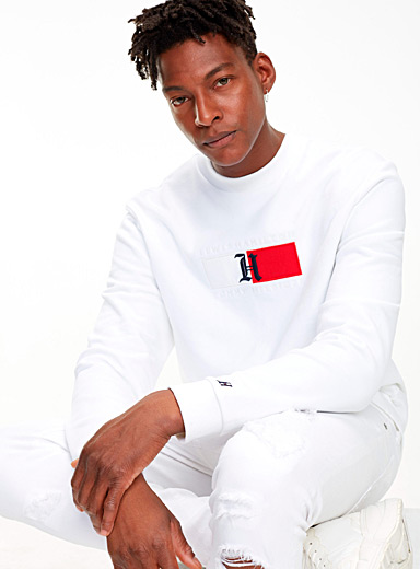 H flag logo sweatshirt