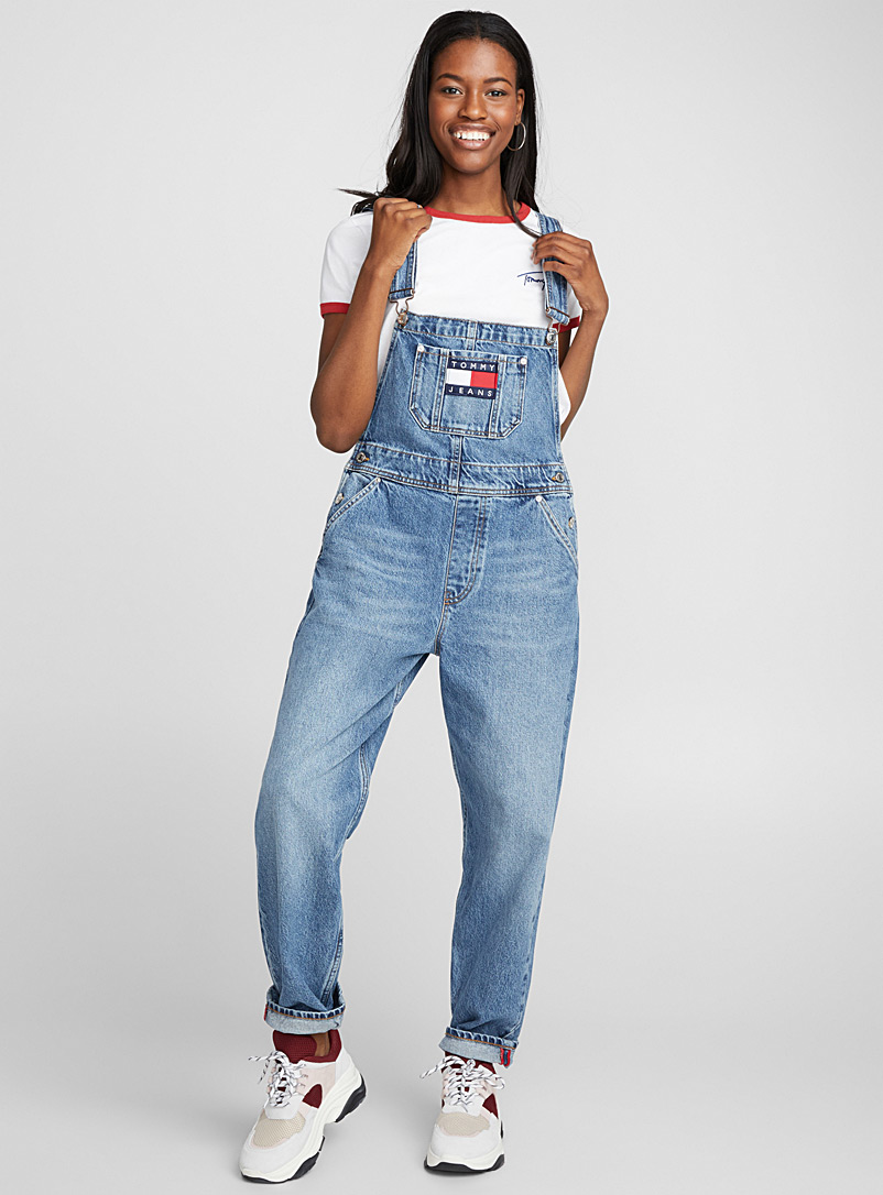 Dungaree 90's overalls - Overalls - Baby Blue