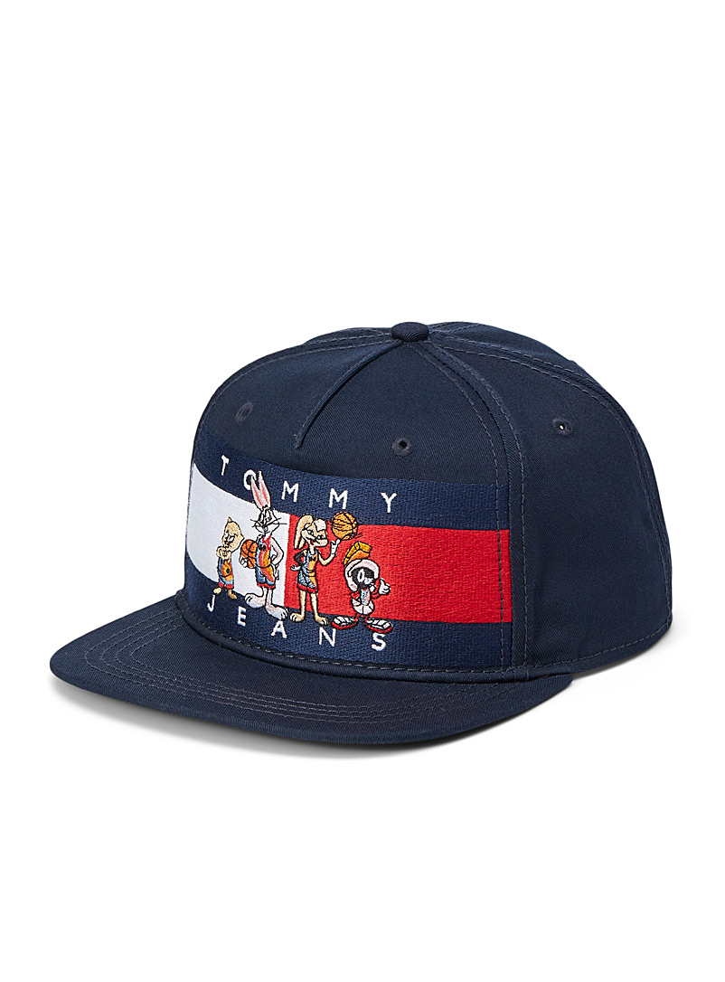 Tommy Jeans Marine Blue XL New Legacy embroidered cap for men