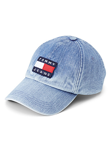 Nautical denim cap