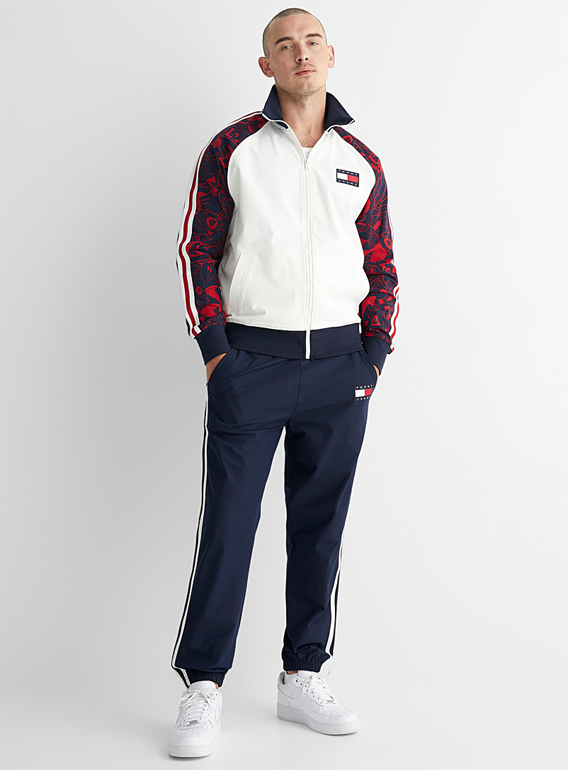 Tommy Jeans Marine Blue New Legacy athletic joggers for men