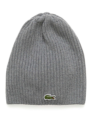 Croc logo wool tuque