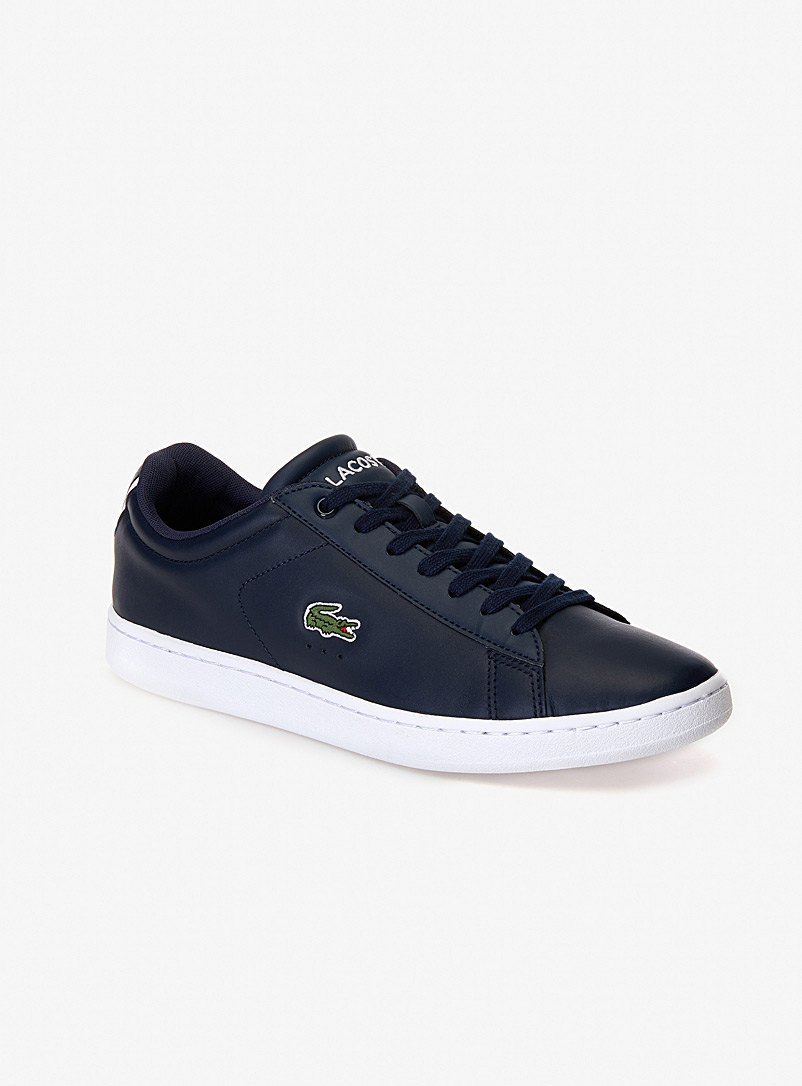 Lacoste: Le sneaker Carnaby Evo Premium Homme Blanc pour homme