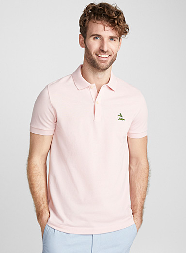 Tropical croc polo
