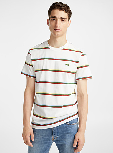 Multicolour stripe T-shirt
