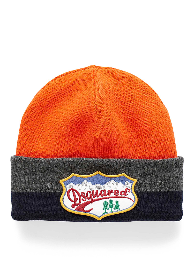 Dsquared2 Assorted Mountain emblem tuque for men