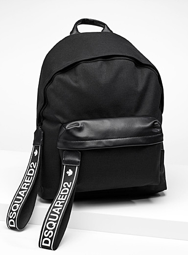 Signature pull-tab backpack