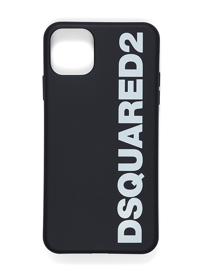 Dsquared2 Black Two-tone iPhone XI Pro Max case for men