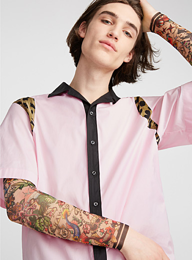 Faux-tattoo sleeves