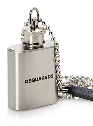 Small flask necklace