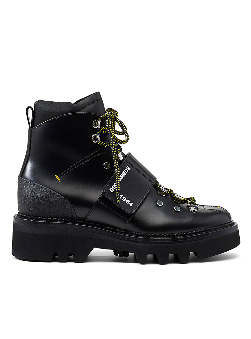 La bottine Hector - Dsquared2 - Noir