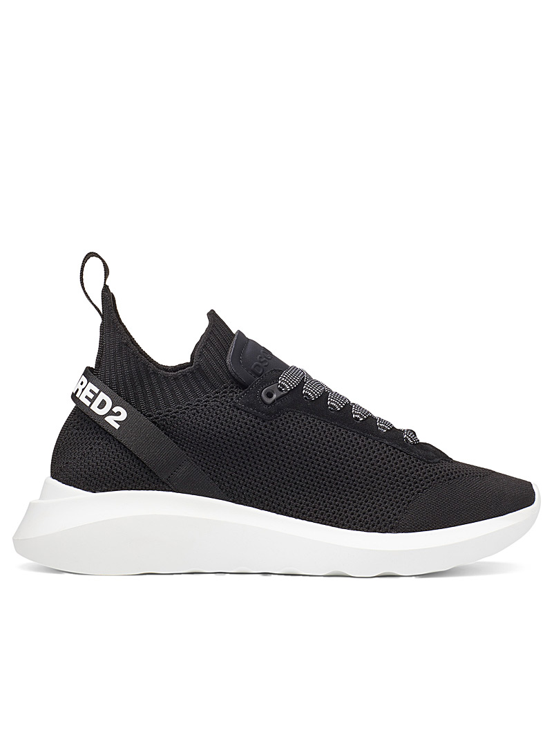Dsquared2 Black Speedster sneakers for men