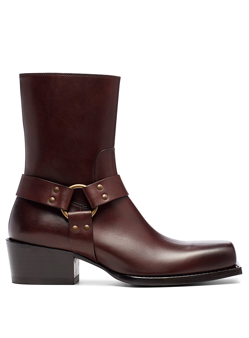 Dsquared2 Light Brown Rider boots for men