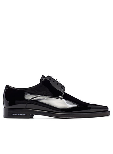Dsquared2 Black New Punk laced shoes for men
