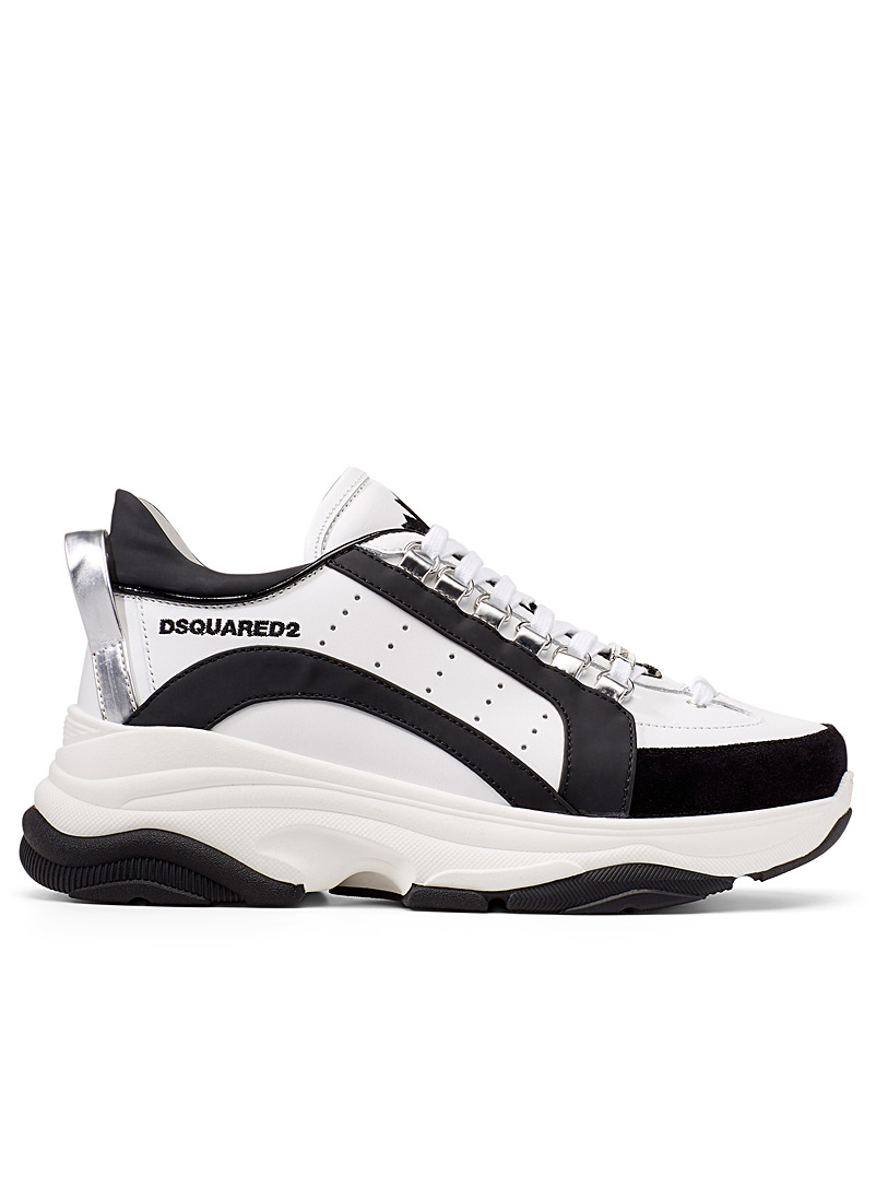 Dsquared2 White Bumpy 551 sneakers  Men for men