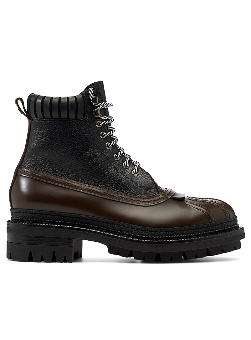 Dsquared2 Brown Tank laced boot for men