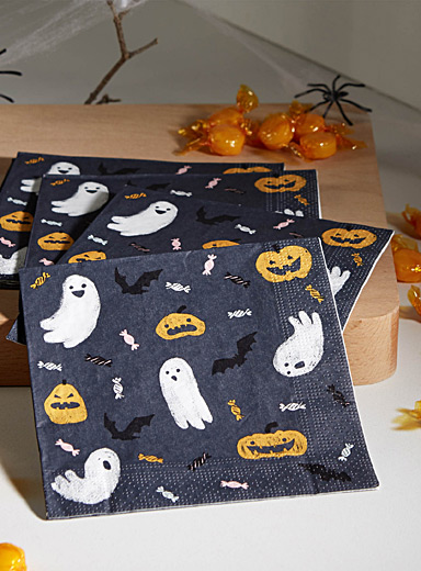Spooky sweets paper napkins <br>33 x 33cm. Pack of 20.