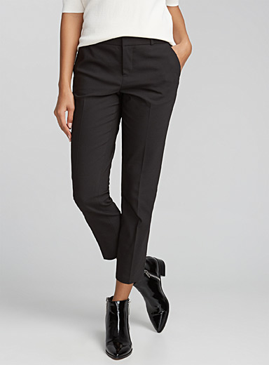 Stretch slim ankle-lenght pant