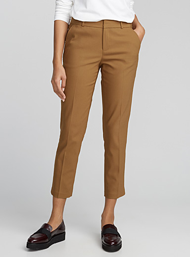 Stretch slim ankle pant