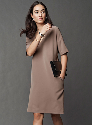 Minimalist loose dress