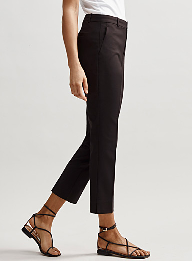 Structured slim pant