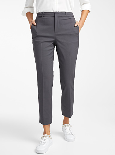 Semi-slim organic cotton pant