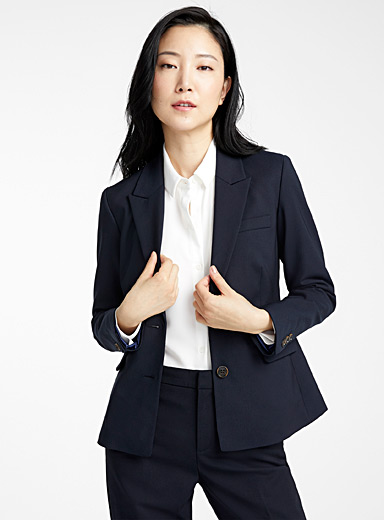 Structured two-button jacket