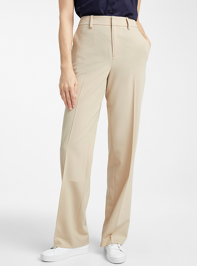 Contemporaine Sand Straight career pant for women