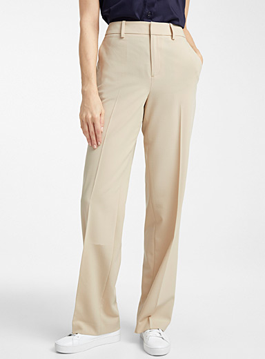 Contemporaine Sand Career straight pant for women