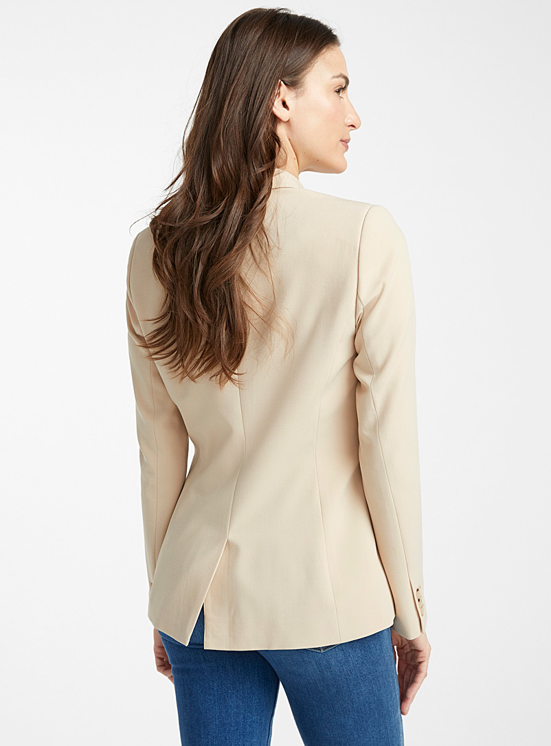 Career two-button jacket - Blazers - Sand