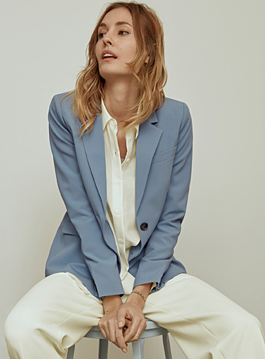 Two-button career jacket