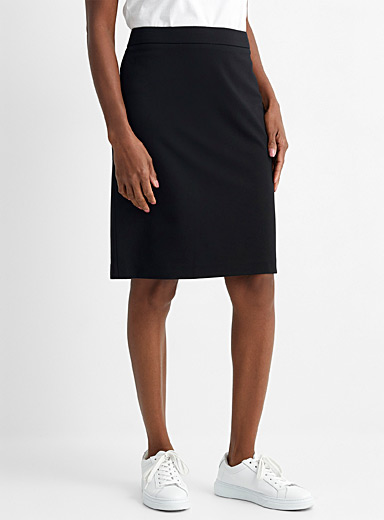 Stretch ponte skirt