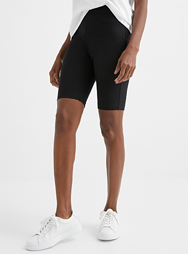 Stretch ponte cycling short