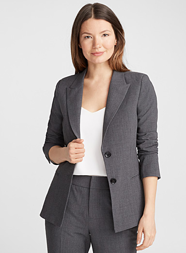 Career two-button jacket