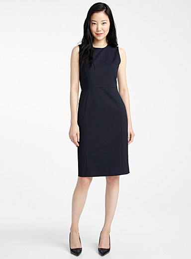 Organic cotton sheath dress