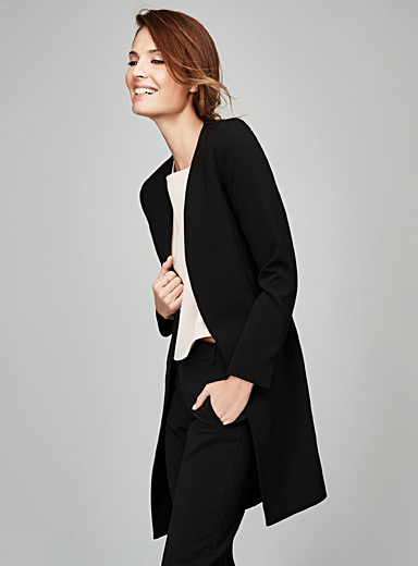 Super sleek long jacket