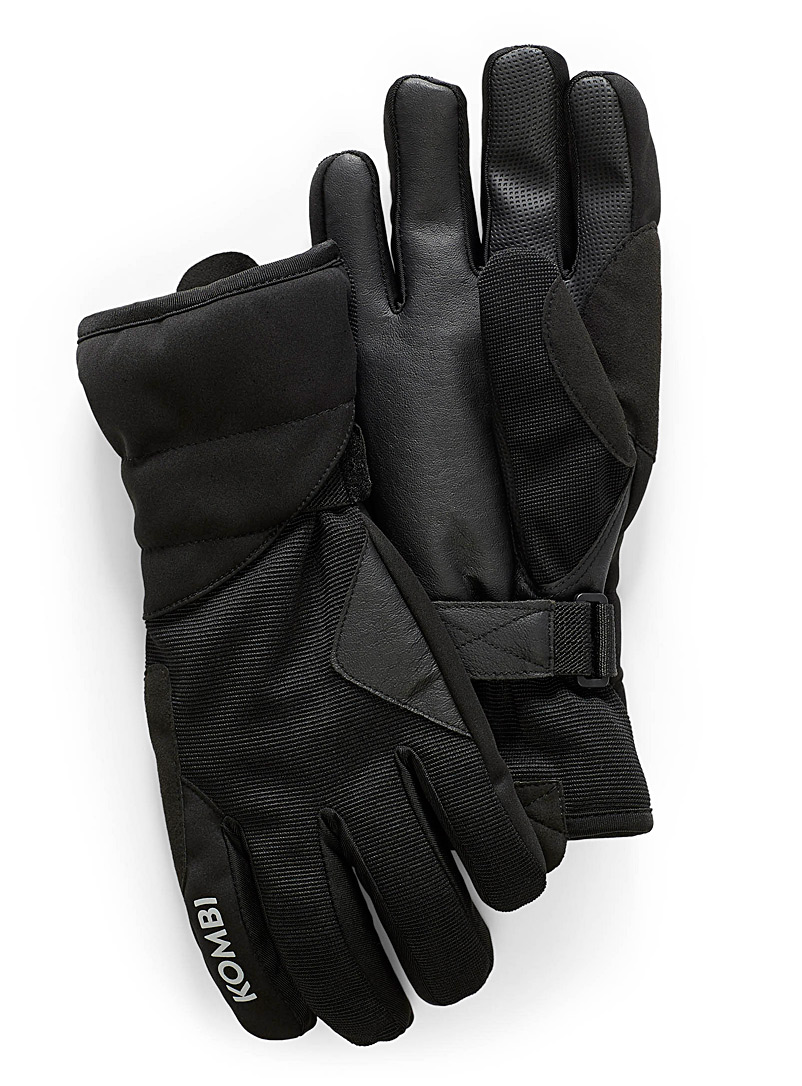 Kombi Black The Wanderer gloves for men