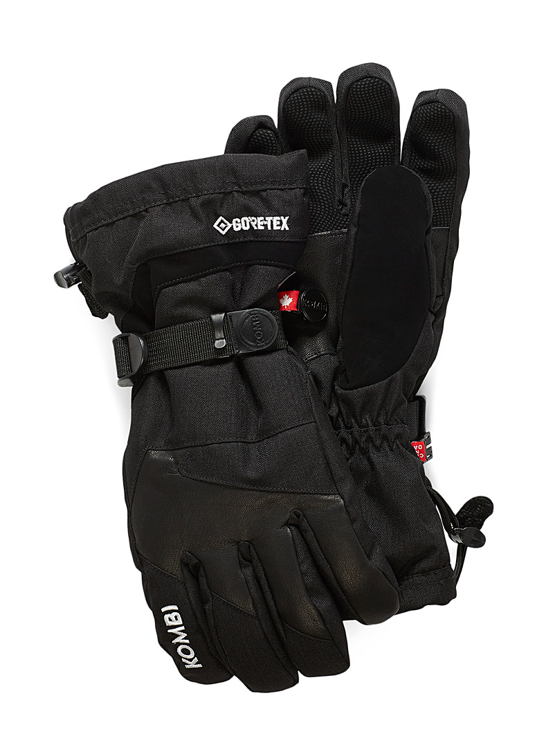 Kombi Black Timeless gloves for men