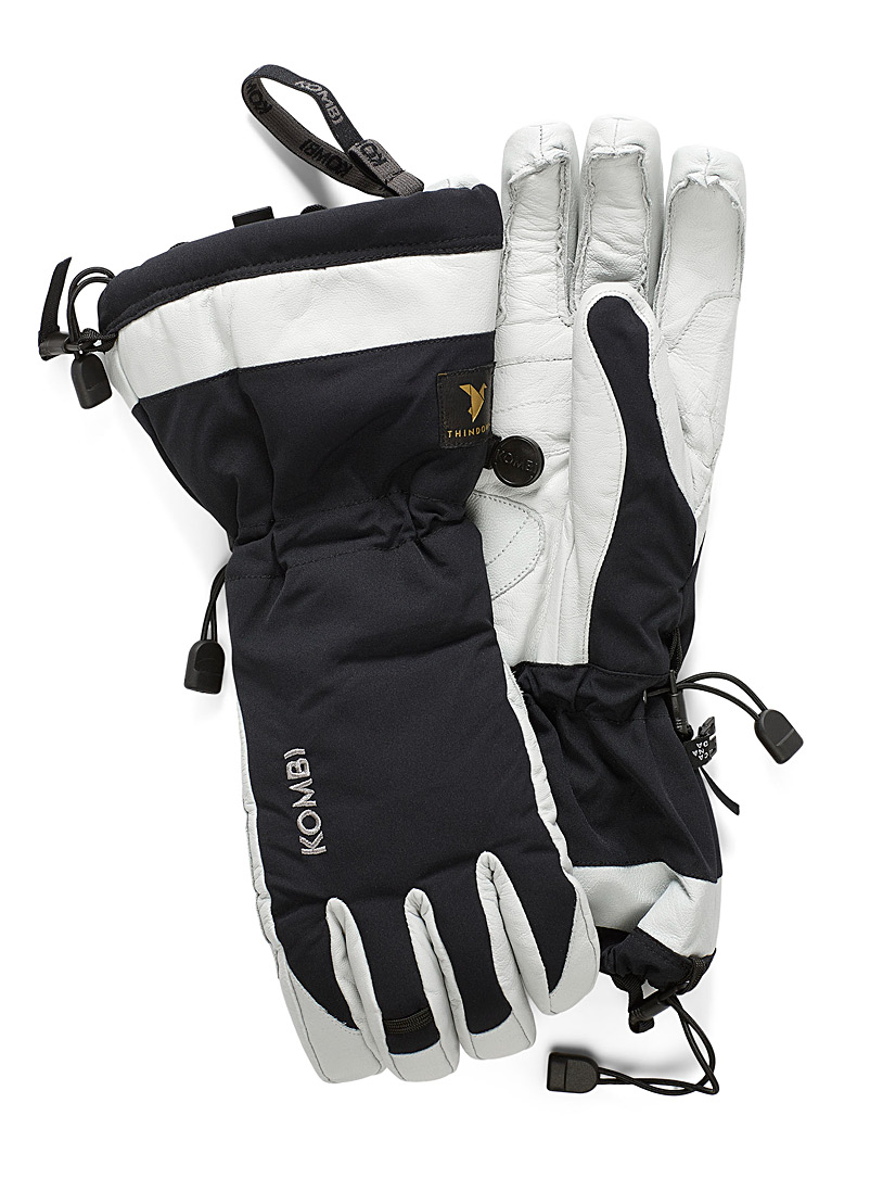 Explorer leather palm insulated gloves
