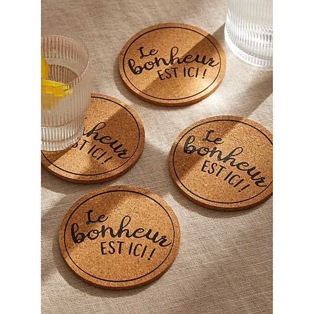 happiness-is-here-message-cork-coasters-set-of-4