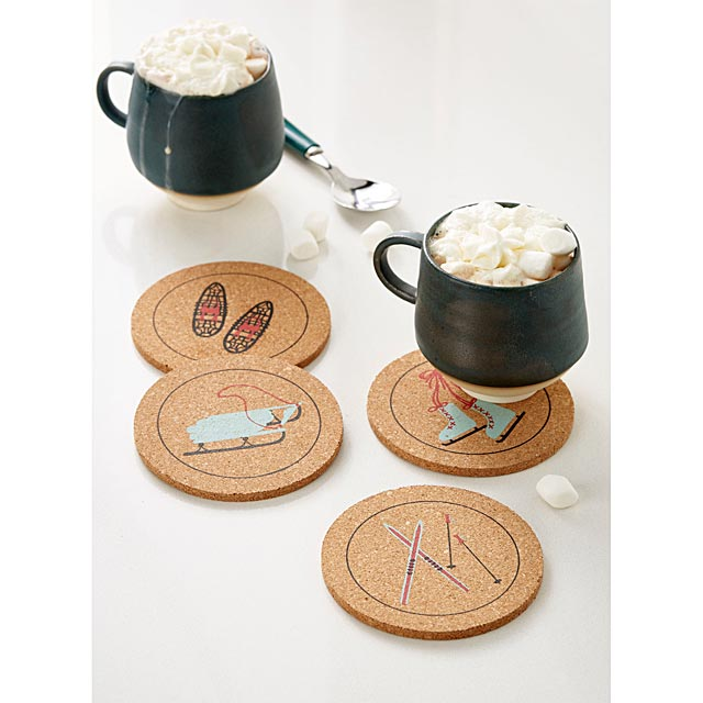 winter-sports-cork-coasters-set-of-4
