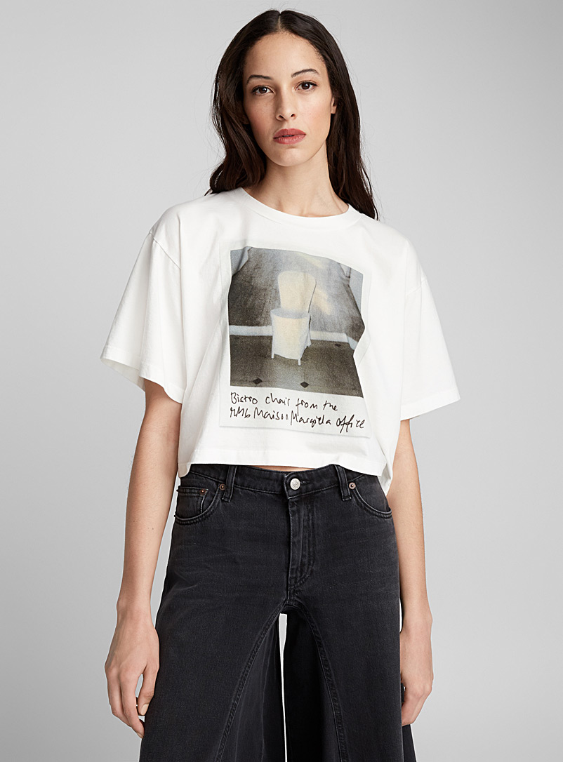 Polaroid print T-shirt - MM6 Maison Margiela