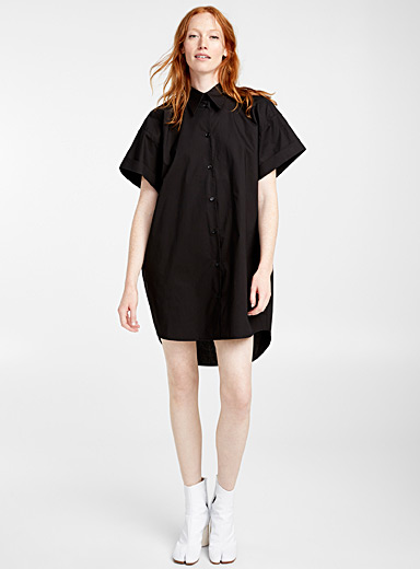 Loose shirtdress